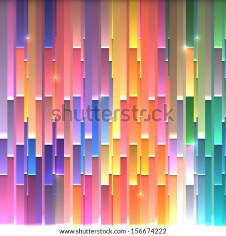 bright paper stripes abstract