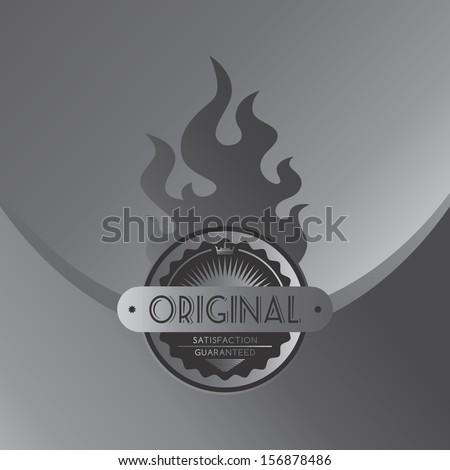 original steel fire label theme