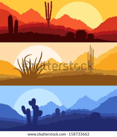 desert cactus plants wild