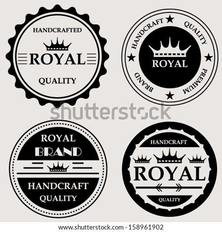 Vector Royal Circle Frame Free Download 10670
