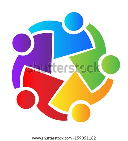 vector of teamwork business