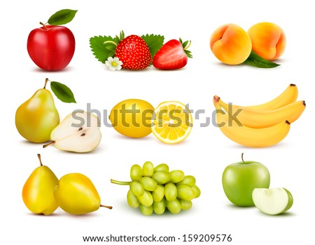 big group of different fruit