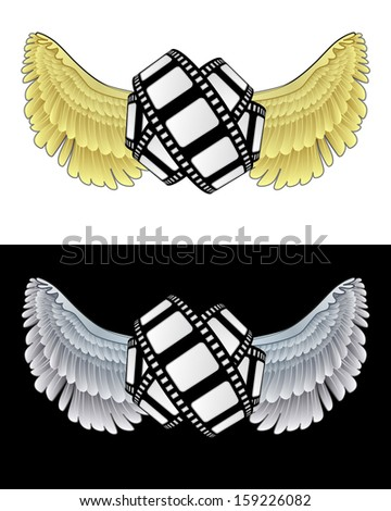 flying angelic movie icon in