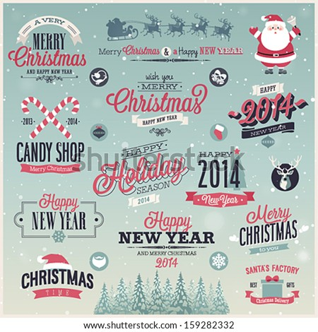 stock-vector-christmas-set-labels-emblems-and-other-decorative-elements