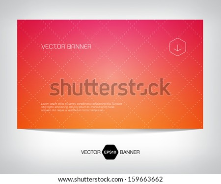 vector smooth web banner