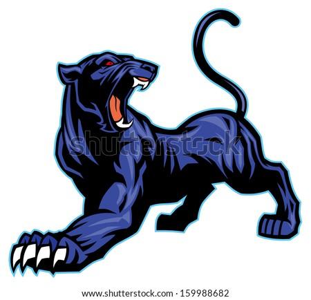 black panther mascot