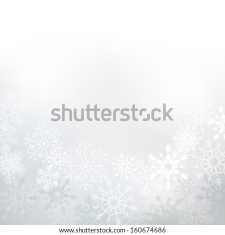 elegant winter background made
