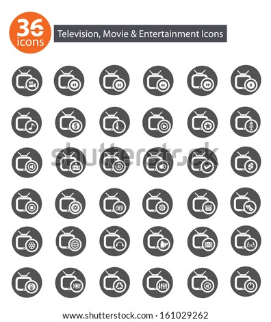 television application icons