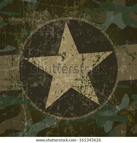 military background with copy