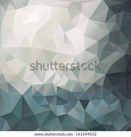 abstract blue gray triangle