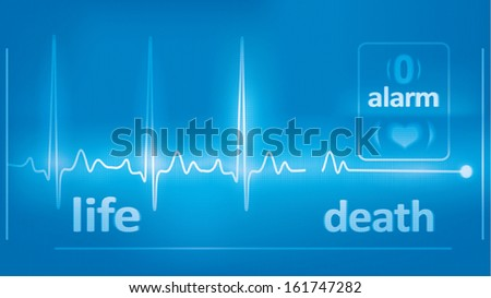 heart beats cardiogram  and