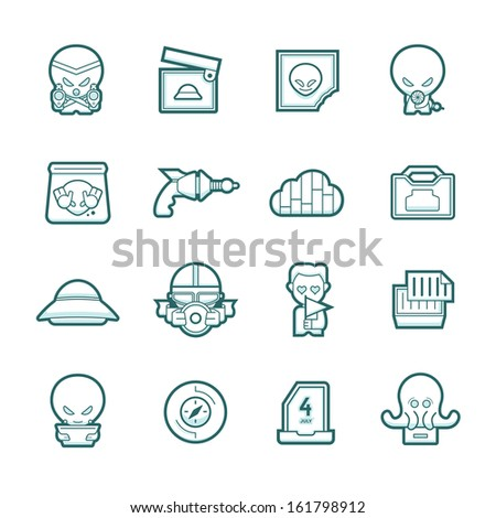 icons showing the process of