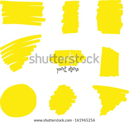 vector spot of vibrant colors