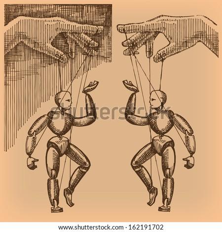 puppet vector format