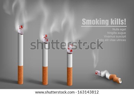 smoking cigarettes anti