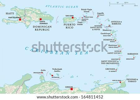 lesser antilles  haiti