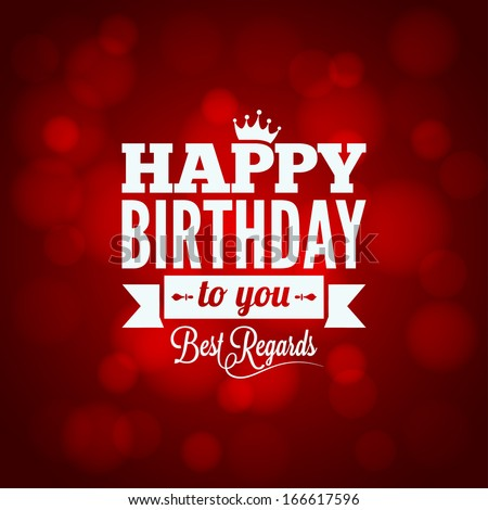 happy birthday sign design