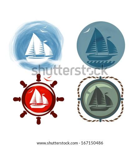 yacht vector format