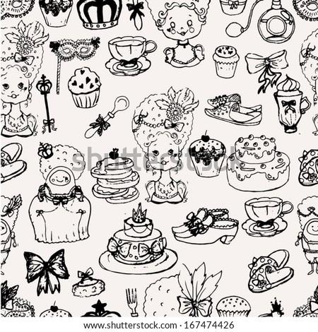 marie antoinette doodle