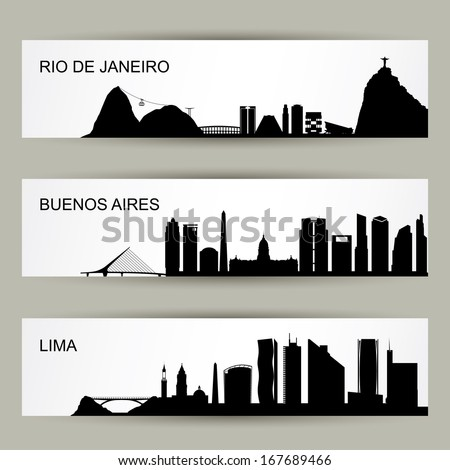 city skylines of latin america