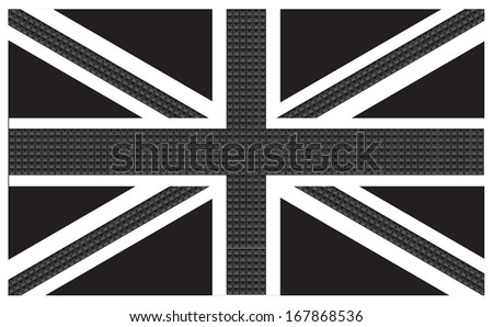 great britain flag  punk