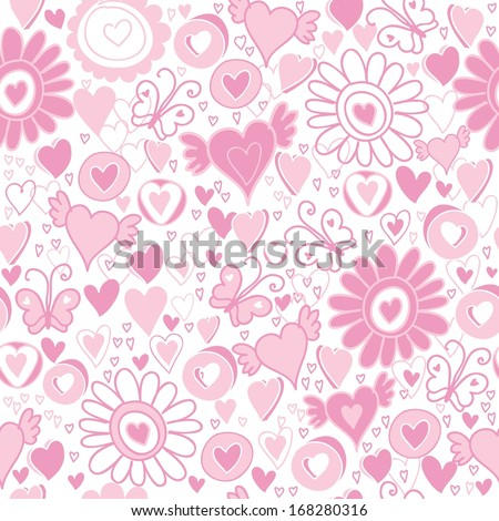 vector valentine's day hearts