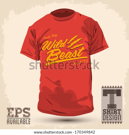 vintage graphic t shirt design