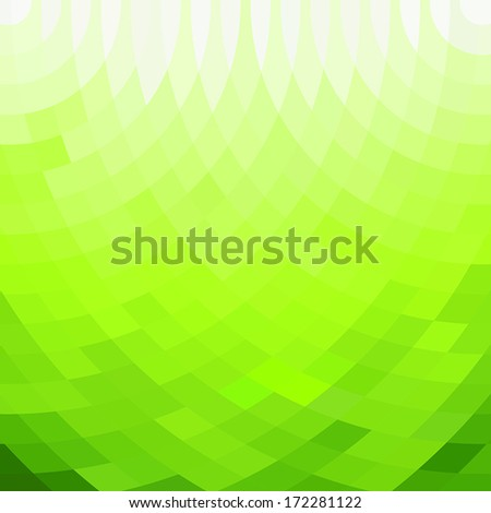 abstract geometric green