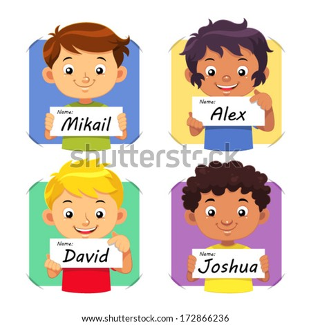boys name 1 boys holding their