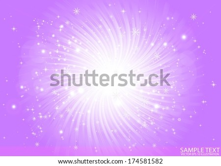 vector purple  star burst