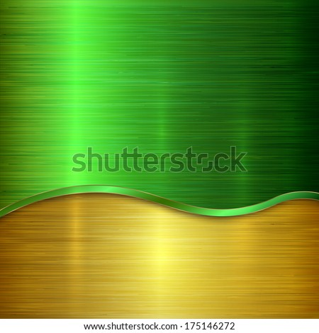 vector metallic background with
