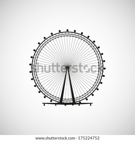 ferris wheel from amusement
