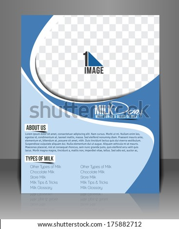stock-vector-milk-store-back-flyer-template