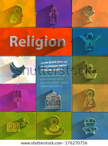 religion vector format