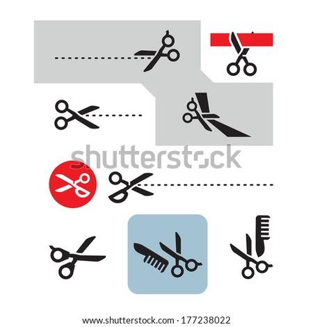 scissors vector format