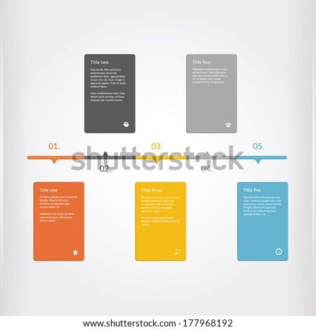 vector creative timeline