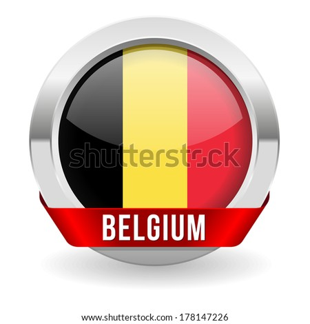 round belgium button with