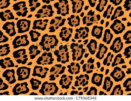 jaguar skin seamless pattern