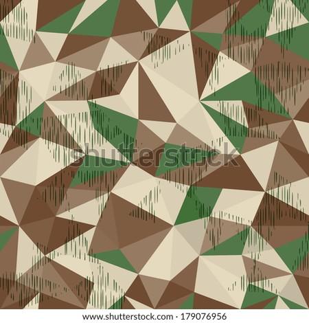 splinter camo  geometric