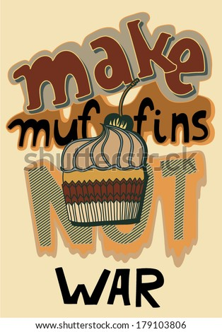 funny words make muffins not