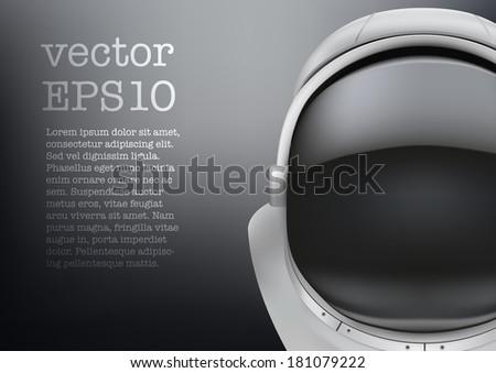 astronaut helmet with big glass