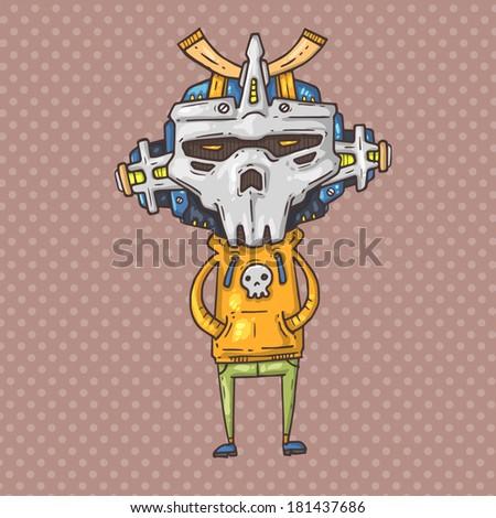 skull boy