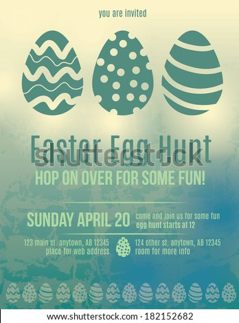 beautiful easter egg hunt