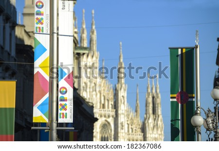 milan  italy march 17  2014