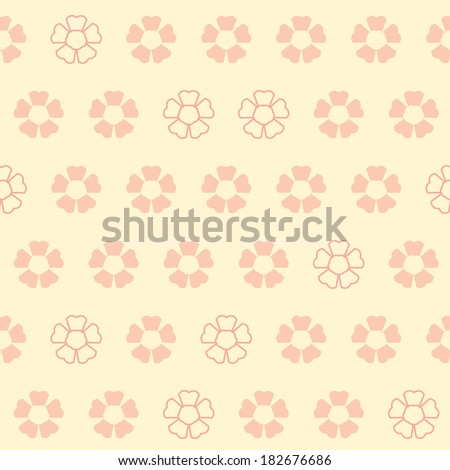 vector flower pattern sakura
