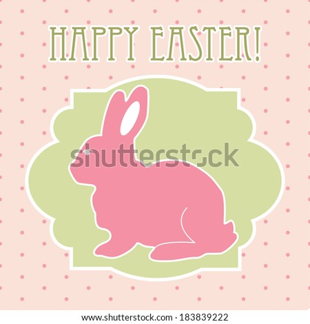 easter concept vector background