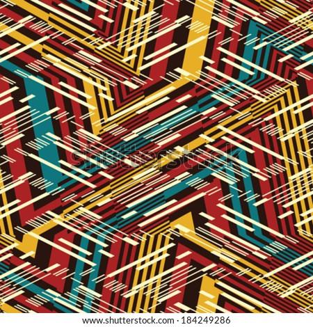 abstract broken rhythmic