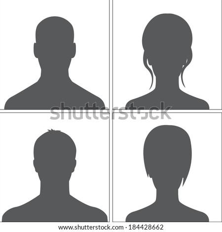 avatars set grey