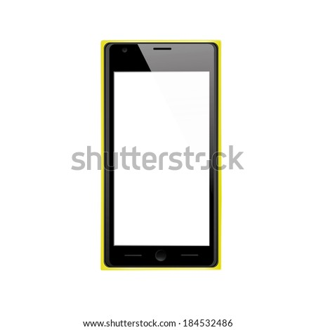 vector black  yellow modern