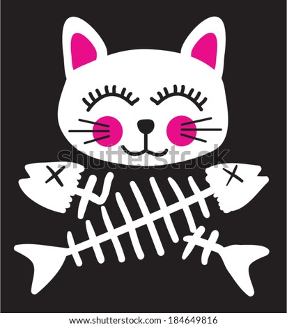 pirate cat flag   t shirt